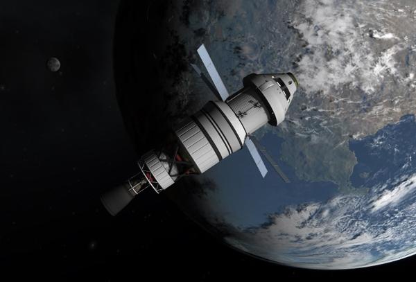 kerbal nasa orion spaceship - photo #7